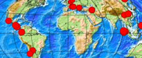 earthquake map image